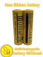 Wholesale New High Quality10pcs ultrafire battery mah v li ion rechargeable battery for flashlight power bank