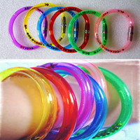 bendy pens - Fashion Children Jewelry Colorful Bendy bracelets bangles Open Used as a Ball point pen for Kids Toys Writing Gift