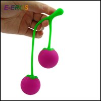 Wholesale Drop Shipping Cute Cherry Kegel Exerciser Sex Products Benwa Ball Sex Toys Vagina Ball for Woman