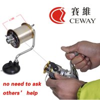fishing pliers - Portable Fishing Line Winder Wrapper Fishing Reel Spool Spooler System Aluminum Fishing Tackles Materials Equipment New