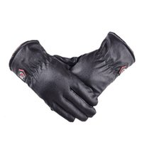 Wholesale 2014 New Feitong Mens Leather Winter Warm Waterproof Gloves For Ski Riding Motorcycle