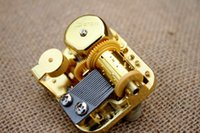 adult box music - 18 Note wind up music box golden movement DIY music box parts gift for children and adult Tune My Neighbor Totoro