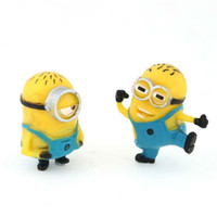 Wholesale Despicable Me series Juguetes Figure Micro Bonsai Furnishing Articles Minion in Action Figures Minions Toys Doll Retail JJ164