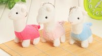 alpaca plush toy - Super Kawaii Australia The Alpaca CM Keychain DOLL TOY Plush Stuffed TOY DOLL BAG Pendant TOY Wedding Bouquet TOY DOLL