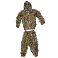 Wholesale Hunting Games Tactical Military Camouflage Bionic Ghillie Suit Lightweight Breathable Polyester War Game CS Paintball Clothing