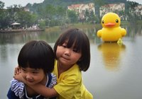 Wholesale Rubber Duck yellow duck graden duck PVC inflatable cartoon great duck hot sell