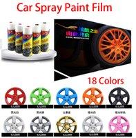 Wholesale Car Spray Paint Film ML Car Wheel Modification Rubber Spray Paint Film Modified Car Motocycle Paint Colors Removable