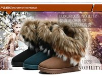 top brand - Snow Boots for Women Shoes Ankle Winter Womens Girls Fur Designer Brand Platform Top Quality Fashion Ladies colors Shoes Boot Warm
