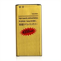 Wholesale best sell New High Capacity mAh Replacement battery Gold Battery Lion Battery for Samsung Galaxy S5 i9600