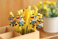 Wholesale 2015 Despicable Me Minion cartoon ballpoint styles school things Office and student stationery Pen