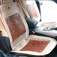 bamboo seat cushion - Nature Bamboo Car Seat Cushion Pure Manual Mats Summer Car Seat Cushion Rug FLoor Mat Cool Breathable for Sale LX1514