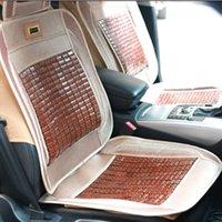 bamboo seat mat - Nature Bamboo Car Seat Cushion Pure Manual Mats Summer Car Seat Cushion Rug FLoor Mat Cool Breathable for Sale LX1514