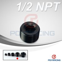 Wholesale PQY STORE quot NPT Pipe Thread Allen Socket Plug black npt plug PQY SL932