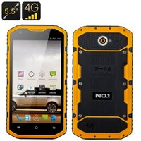 Wholesale 5 inch NO X6800 G LTE mAh Power Bank Rugged Anti Proof IP68 Waterproof Bit Quad Core Qualcomm MSM8916 GB GB GPS Smart Phone
