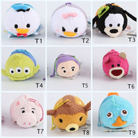 alice hot toys - 150pcs Retail cm Mini Lovely TSUM TSUM toy Animal plush Doll Baby toys Alice Cinderalla Snow white mix styles for choose hot TSUM TSUM