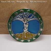 Wholesale TREE OF LIFE LOVERS Cowgirls Metal Belt Buckle Texas Fashion Mens Western Turbo Nos Tunning