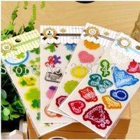 Wholesale 6 cm Transparent PVC decorative stickers DIY Sticker sheets sheets type