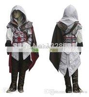achat en gros de ezio costume-Haute Qualité Custom Made Ezio Costume Edward Kenway Costume Cosplay Assassins Creed Costume For Kids Livraison gratuite