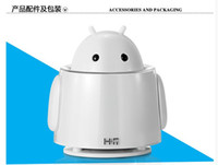 Wholesale new arrival Hifi mini speaker hsd8008b small speaker UFO robot audio hi cartoon speakers for wholesales or retailor