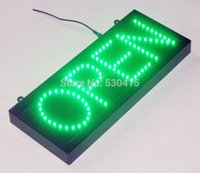 Wholesale Led open signs open led sign led sign in the size of quot x7 quot ul cul ce listed