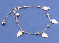 anklet bells free shipping - New Fashion Foot jewelry bells owl Anklet nice gift for women girl