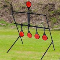 Cheap Spinning Target Metal Plinking Air Gun Rifle Slingshot Catapult Target