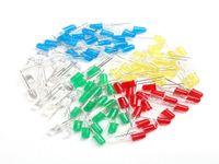 rectifier - 100pcs mm LED Light Assorted Kit DIY LEDs Set White Yellow Red Green Blue