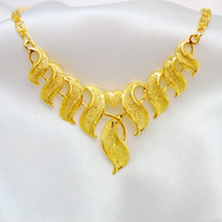 american bridal shops - 2014 Hong Kong gold shop with paragraph gold plated copper necklace Ms bridal wedding jewelry imitation gold jewelry