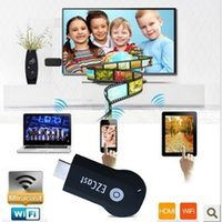 Cheap Free DHL EzCast M2 iPush TV WiFi Display HDMI Dongle W2 Miracast DLNA Airplay AV Receiver 1080P Sharing For Android IOS Windows Smart Device