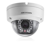 Wholesale Hikvision DS CD2132 I MP Network Mini Dome Camera CCTV Camera M IR Digital HD Waterproof w POE S1016