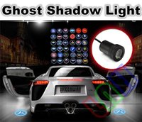 Wholesale 2 x CREE Car LED Laser Logo Light Door Welcome Ghost Shadow Projector Lights for VW Toyota BMW VW Benz Peugeot Audi kinds