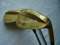 Wholesale 2011 golf Grenda D8 wedges Gold color model degree with steel shaft