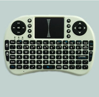 Wholesale Hot Sale Fly air Mouse For Google Tv Box MINI PC Touch Flying Squirrel A21 G Wireless Qwerty Wifi keyboard With Smart TV A21 RII I8