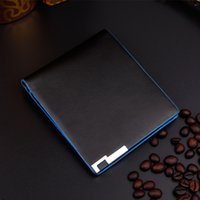 american business supply - Men Wallets Korean Black Color Supply Good Quality Fold Card Holder Purse Wallet