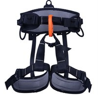 climbing harness - Outdoor climbing safety belts safety equipment harness climbing belt waist safety Aluminum solid belt KG Available GM1414