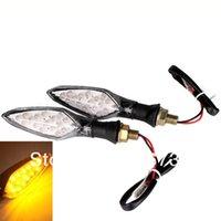 Wholesale 16 LED Motorbike Motorcycle Turn Signal Indicator Light Lamp on Promotion