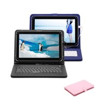 Wholesale IRULU inch Quad Core Android Tablet PC GHZ MTK8127 Dual Camera GB GB Bluetooth Wifi Bundle Keyboard