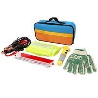 emergency car tool flashlight - Car Safety Emergency Necessary Tool Kit Flashlight Triangle Hammer Security Bag