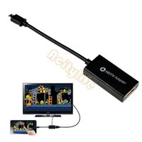 Wholesale Freeshipping CM Micro USB MHL to HDMI Cable adapter HDTV Samsung Galaxy S3 i9300 S4 i9500 Note N7100