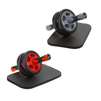 Wholesale Abdominal Wheel No Noise Workout Ab Roller with Mat Abdominal Roller for Woman Man Exercise Fitness Equipment