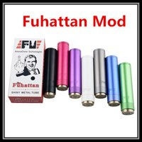 aluminum battery technology - Top Quality Fuhattan FV Battery Mod AmeraClone Technology Shiny Metal Tube Aluminum Skyline M6 Apollo AV Manhattan Mechanical Vape Mod