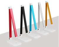 Wholesale 110 V W LED Touch On off Switch Desk Lamp Children Eye Protection Foldable Led Reading Table Lamps desk lamp can used Dormitory Study Of