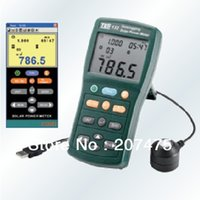 avg usb - TES Solar Power Meter tester min max avg Datalogging SD card USB Taiwa