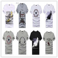 Cheap Wholesale brand Men T-Shirts,man tshirts, round neck T shirts, fashion O-neck t shirt free china post shippingFL02