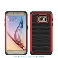 ballistic covers - Football Pattern in Rugged ballistic Impact Armor Combo PC silicone Case cover For Samsung Galaxy S7 G930 G9300