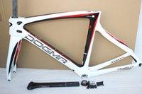 cadre velo carbone - Road bike k carbon road frame full carbon road bicycle frame chinese carbon fiber frameset sticker is avaiable cadres velo de carbone