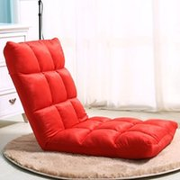 PP cotton bedroom furniture fabric beds - Lazy sofa couch couch rice small single sofa chair folding bed floor chair chair window on the chair JC0070 kevinstyle