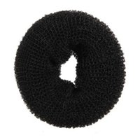 big hair bun donut - Black Donut Hair Ring Big Bun Former Shaper Styler Tool SP0048
