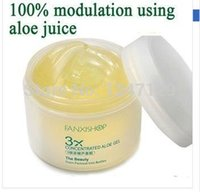 aloe gel juice - FANXISHOP Times concentrated Aloe vera gel g Face cream mask moisturizing acne healing Repair after sun plant juice