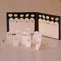 Wholesale Cute Creative Finger Type Sticky Note Pad Bookmark Finger Shape Memo Pad Note Paper Sticky Drop Shipping